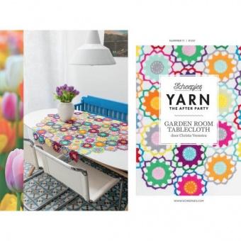 Garden Room Tischdecke Häkelanleitung - Christa Veenstra Tablecloth - Scheepjes Yarn - The After Party Number 11
