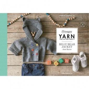 Billy Bear Jacket Strickjacke Strickanleitung - Jane Burns Kinderpullover - Scheepjes Yarn - The After Party Number 112