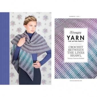 Crochet Between The Lines Shawl Häkelanleitung - Tammy Canavan-Soldaat - Scheepjes Yarn - The After Party Number 18