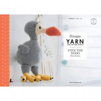Finn the Dodo Amigurumi Stofftier Häkelanleitung von Mike Brooks - Scheepjes Yarn - The After Party Number 37