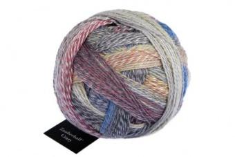 Crazy Zauberball Sockengarn mit Farbverlauf - Schoppel Sockenwolle Föhnlage 2427