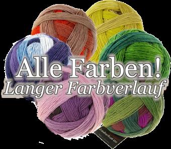 Zauber Flower Farbverlaufsgarn - Strickgarn aus Merinowolle - Schoppel im Bobbel-Style