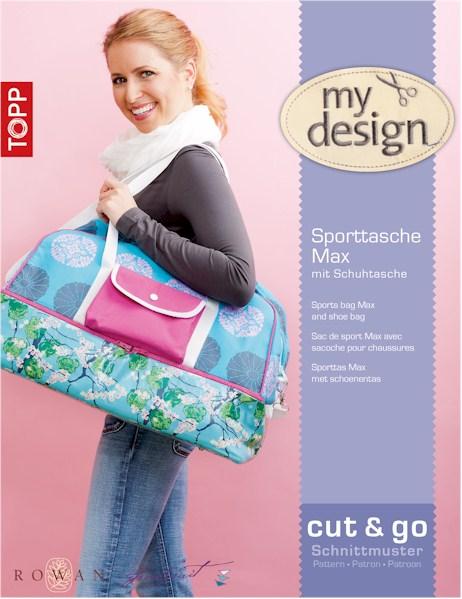 Quiltzauberei.de | Sporttasche Max mit Schuhtasche - my design ...