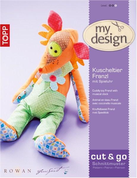 Quiltzaubereide Kuscheltier Franzl Und Stoffspieluhr My Design