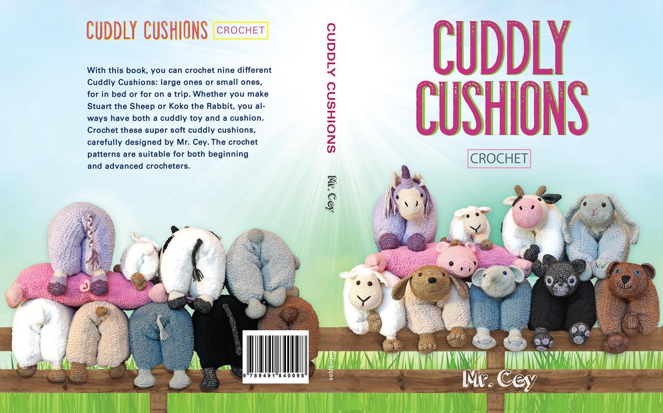 Quiltzaubereide Cuddly Cushions Crochet Tierkissen Häkeln