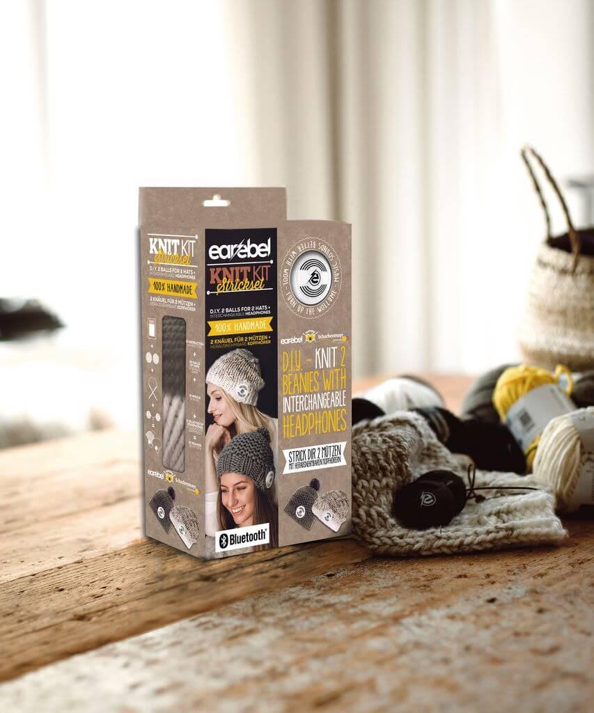 strickpaket earebel knitkit beige. Black Bedroom Furniture Sets. Home Design Ideas
