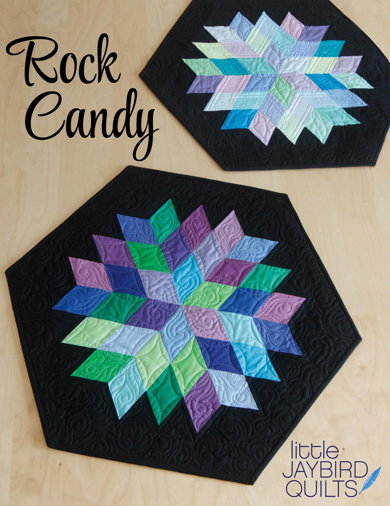 Quiltzauberei.de | Rock Candy Decke - Sidekick Schnittmuster Booklet ...