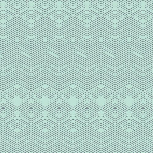 geometrische muster auf minze nightfall labyrinthine dawn art gallery. Black Bedroom Furniture Sets. Home Design Ideas