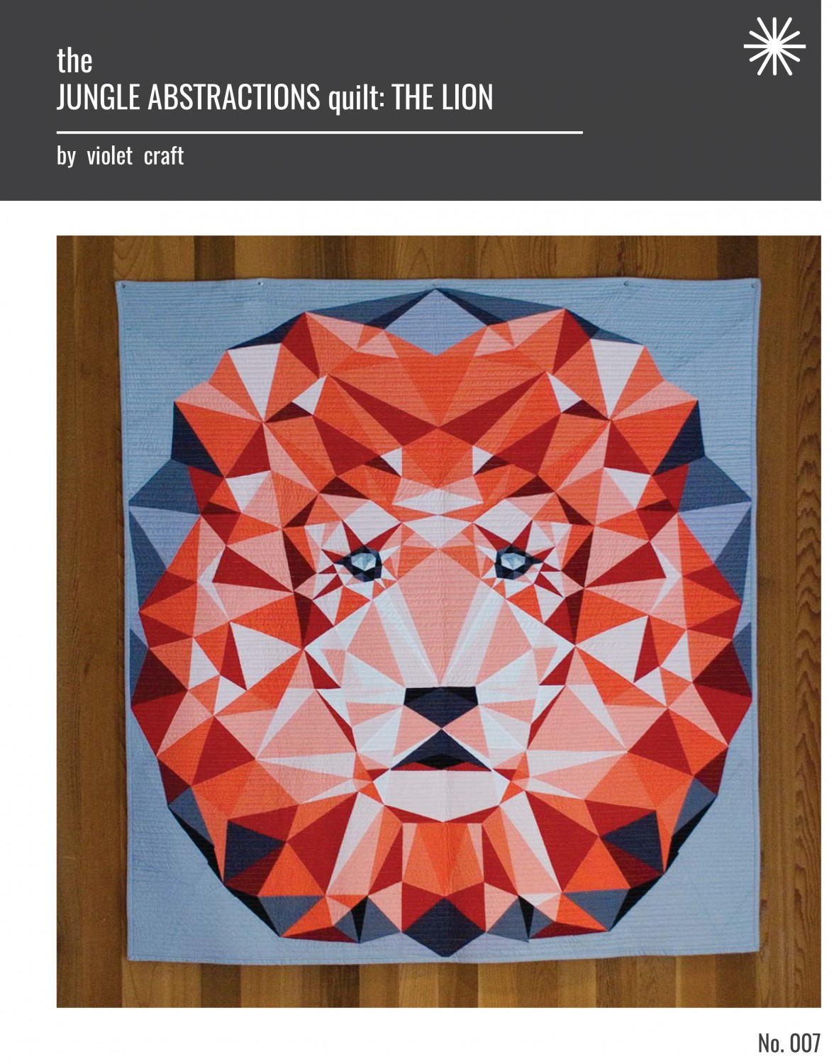 Quiltzaubereide The Lion The Jungle Abstractions Quilt By