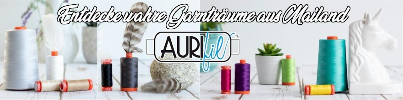 Große Auswahl Aurifil Garne