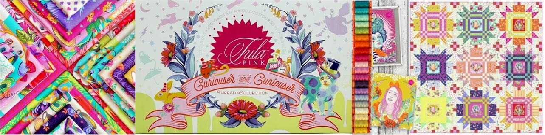 Tula Pink Curiouser & Curiouser Fabrics