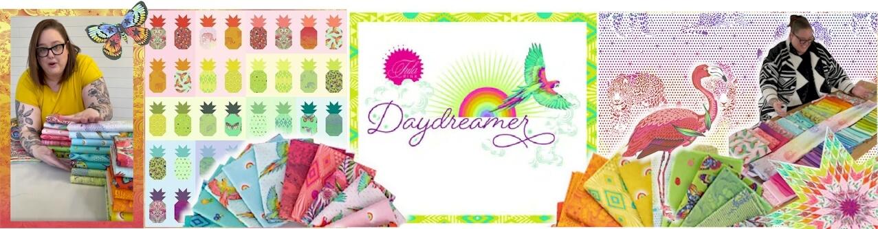 Tula Pink Daydreamer Fabrics Stoffe
