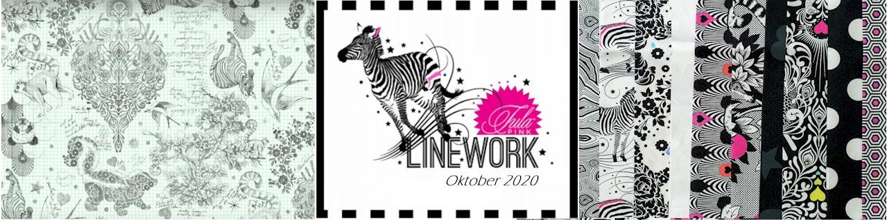 Tula Pink Linework Stoffkollektion günstig kaufen in Deutschland